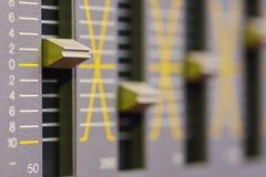 Sound equalizer Stock Photos