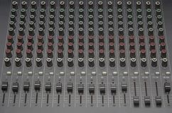 Sound equalizer Stock Image