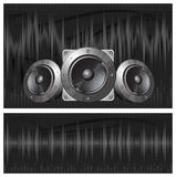 Sound equipment royalty free illustration