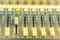 Sound equipments Royalty Free Stock Photography