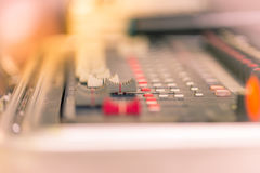 Sound equipments Royalty Free Stock Photo