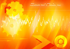 Sound fabric. Sound wallpaper abstract image; background theme Royalty Free Stock Images