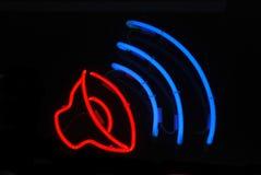 sound högtalare arkivbild