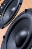 sound högtalaresystem Royaltyfri Fotografi