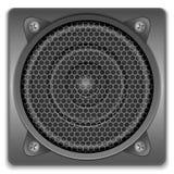 sound högtalare för symbol Royaltyfri Fotografi