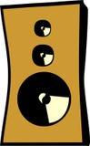sound högtalare två Royaltyfri Fotografi