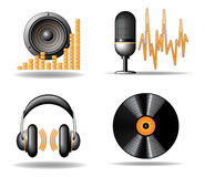 SOUND ICON Stock Photo