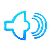 Sound icon Stock Photography