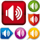 Sound icon Royalty Free Stock Image