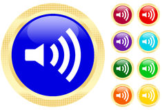 Sound icon Stock Photos