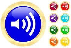 Sound icon royalty free illustration