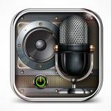 Sound icon Royalty Free Stock Image