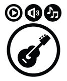 Sound icons Stock Photos