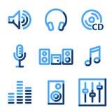 Sound icons vector illustration