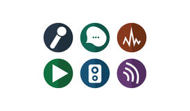 Sound_Icons Obraz Stock
