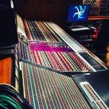 Sound-Karte im Studio Lizenzfreie Stockbilder