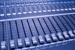 Sound knobs Stock Photo