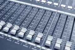 Sound knobs Stock Photos