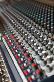 Sound Knobs Stock Image