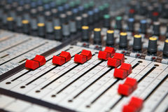 Sound Knobs Royalty Free Stock Image