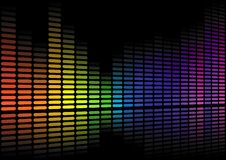 Sound level abstract Stock Images