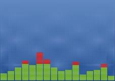Sound level background Royalty Free Stock Images