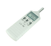 Sound level meter royalty free stock images