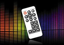 Sound level remote Stock Photography