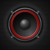 Sound loud speaker. Vector illustration Stock Images