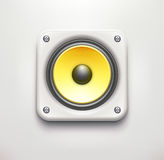 Sound loud speaker Stock Photography