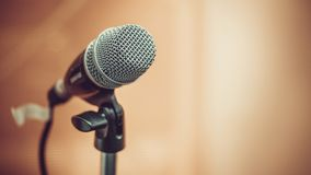 Sound Mic Microphone For Communication royalty free stock images
