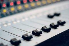 Sound mix Royalty Free Stock Image