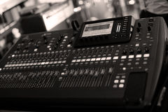 Sound mix DJ Royalty Free Stock Photos