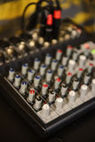Sound mixbräde Royaltyfri Foto
