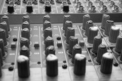 Sound mixer Stock Photo