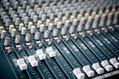 Sound mixer Stock Photography
