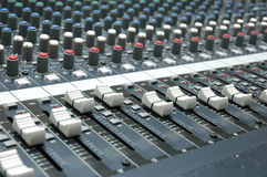 Sound mixer Royalty Free Stock Photo
