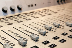 Sound mixer Royalty Free Stock Photography