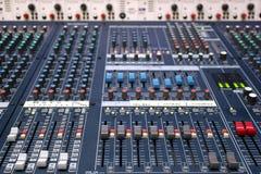 Sound mixer Stock Photography