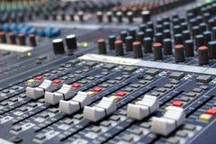 Sound mixer Royalty Free Stock Image