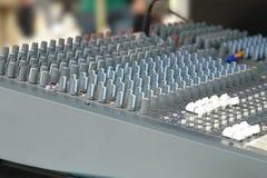 Sound mixer Royalty Free Stock Photo