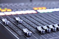 Sound Mixer. A Sound Mixer Stock Photography