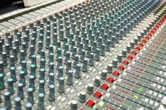 Sound mixer. Stock Photo