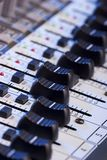 Sound Mixer Board Royalty Free Stock Photo