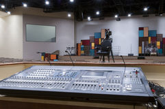 Sound Mixer at Church Royalty Free Stock Photography