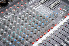Sound Mixer Control Royalty Free Stock Image