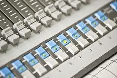 Sound mixer controller Stock Photography
