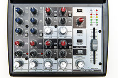 Sound mixer for home use Royalty Free Stock Photography