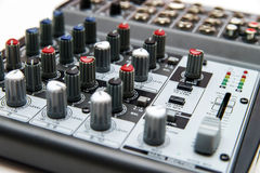Sound mixer for home use Stock Photography