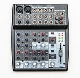 Sound mixer for home use Royalty Free Stock Image